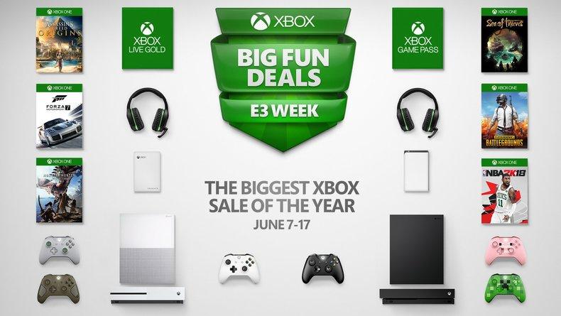 Microsoft lance des réductions sur ses consoles pour l'E3 — Xbox One