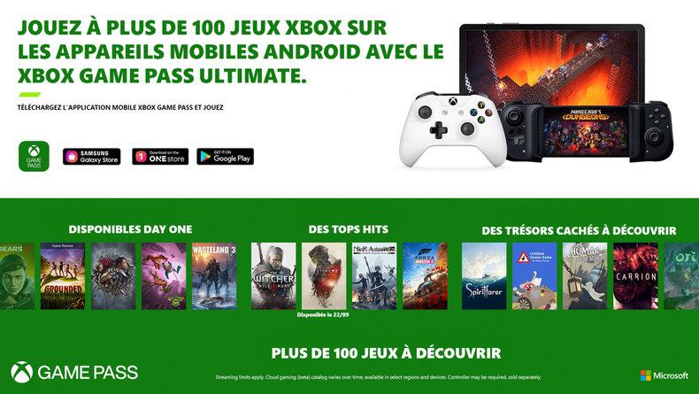 Microsoft annonce plus de 150 jeux sur mobile — Xbox Game Pass