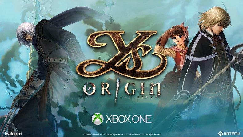 Ys Origin annoncé sur Xbox One pour le printemps, premier trailer