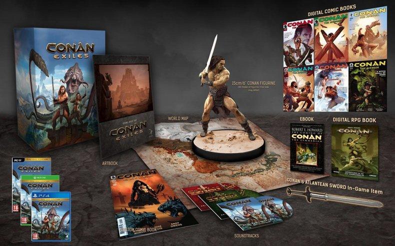 La date de sortie de Conan Exiles dévoilée